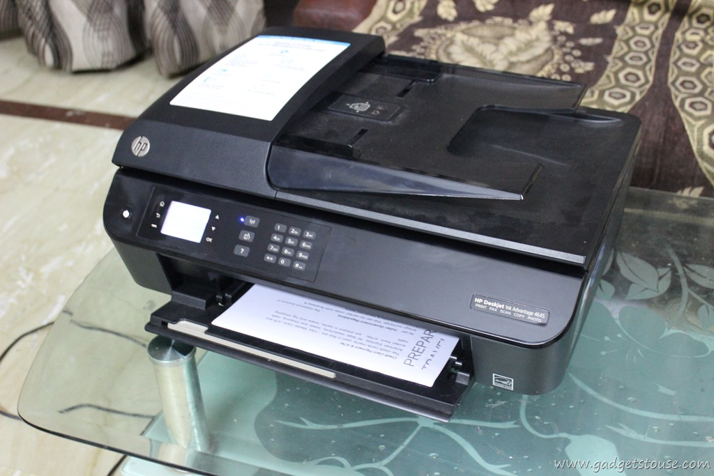HP Deskjet Ink Advantage 4645e All-in-One Printer Review ...