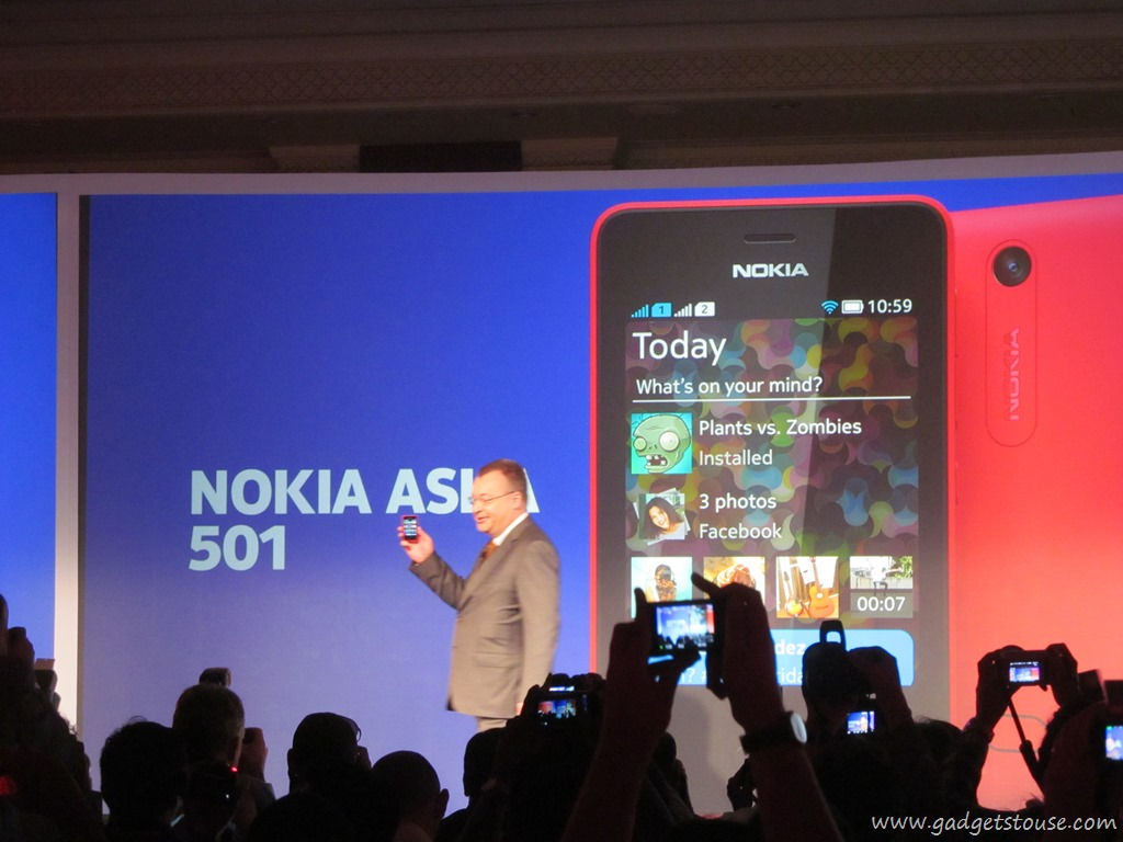 The New Nokia Asha 501 Has New Features Such As Fast Lane, A Revamped Ui